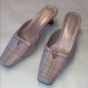 Liz Claiborne flex kitten heels 6 pink pastel